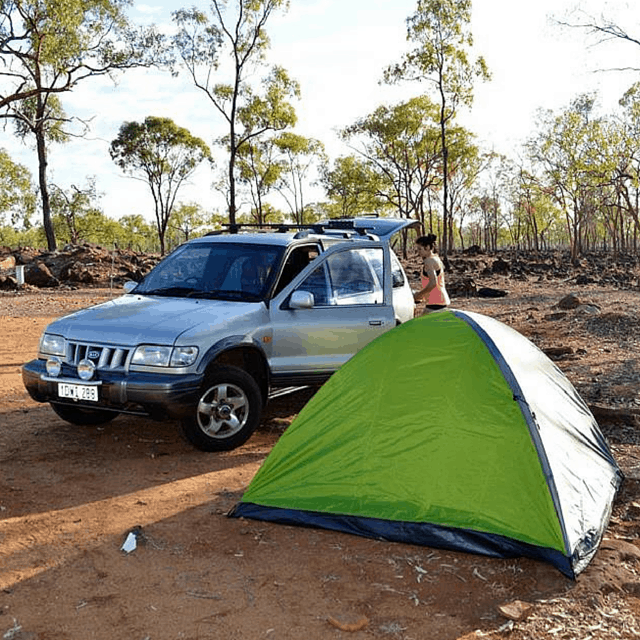 Hard-Core Camping in Australia