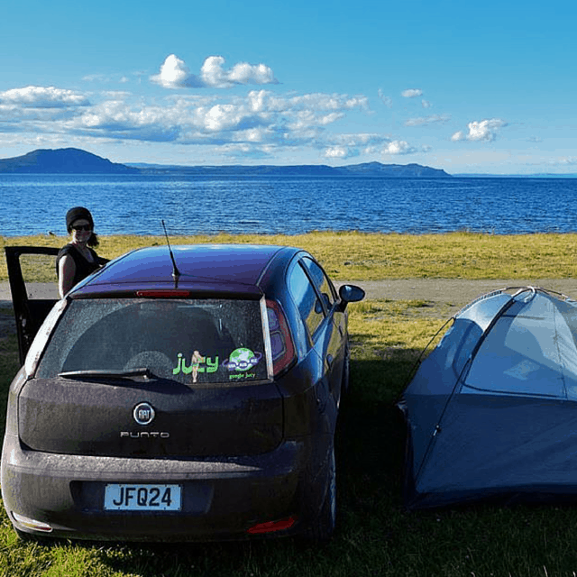 Hard-Core Camping in New Zealand