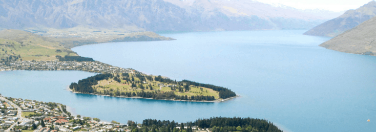 Taking a Swing in Queenstown