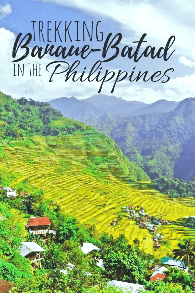Banaue & Batad Rice Terraces - One of the famous places in the Philippines. How to get there & how to enjoy every single scene.