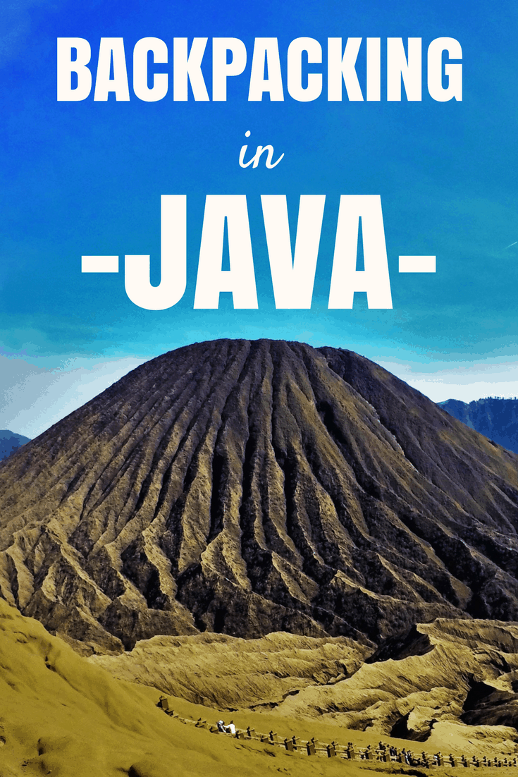 Backpacking In Java, Indonesia