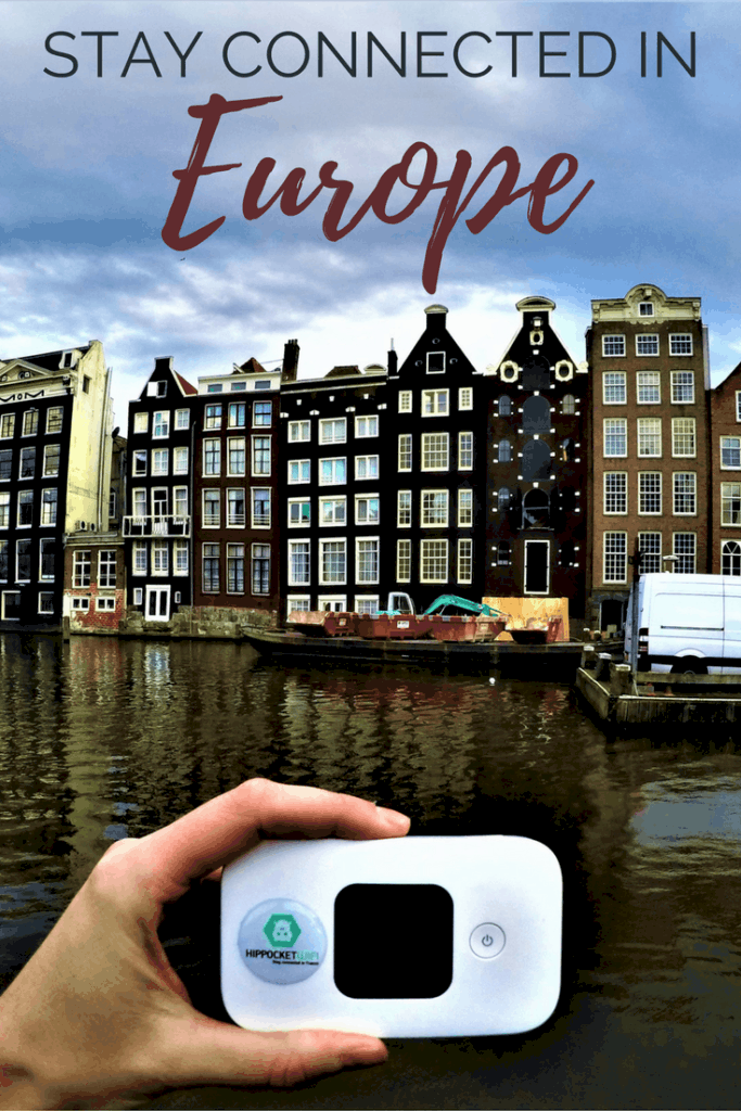 Stay connected when you travel in Europe - All you need to know about pocket wifi.