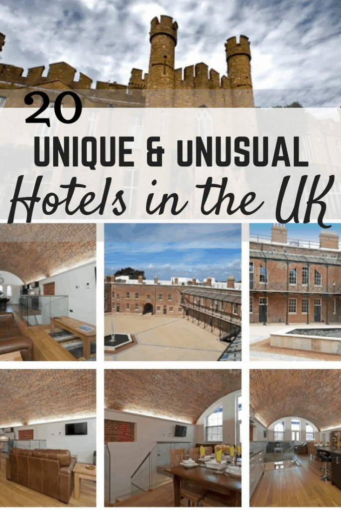 20 unique and unusual hotels in the uk a broken backpack for Quirky hotels