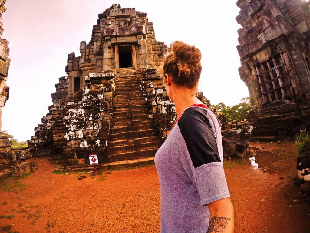 Going on a trip solo - in Cambodia