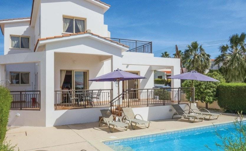 villa holidays - cyprus