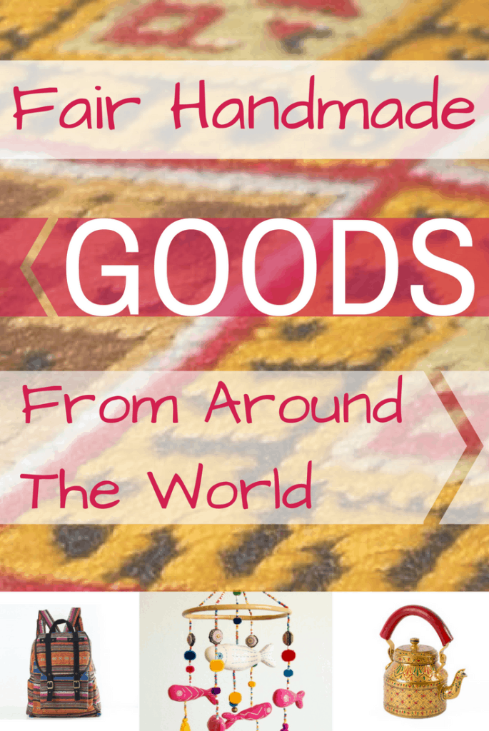 Handmade Goods From Around The World - A Fair Trade Shop to promote empowerment in small communities across the globe.