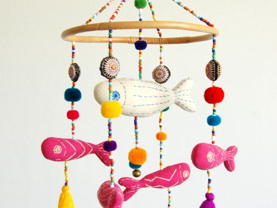 Handmade Baby Mobile