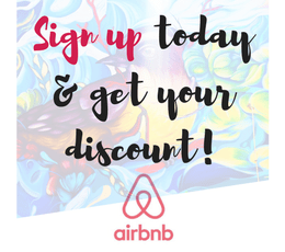 Travel blog | solo female travel | airbnb discount