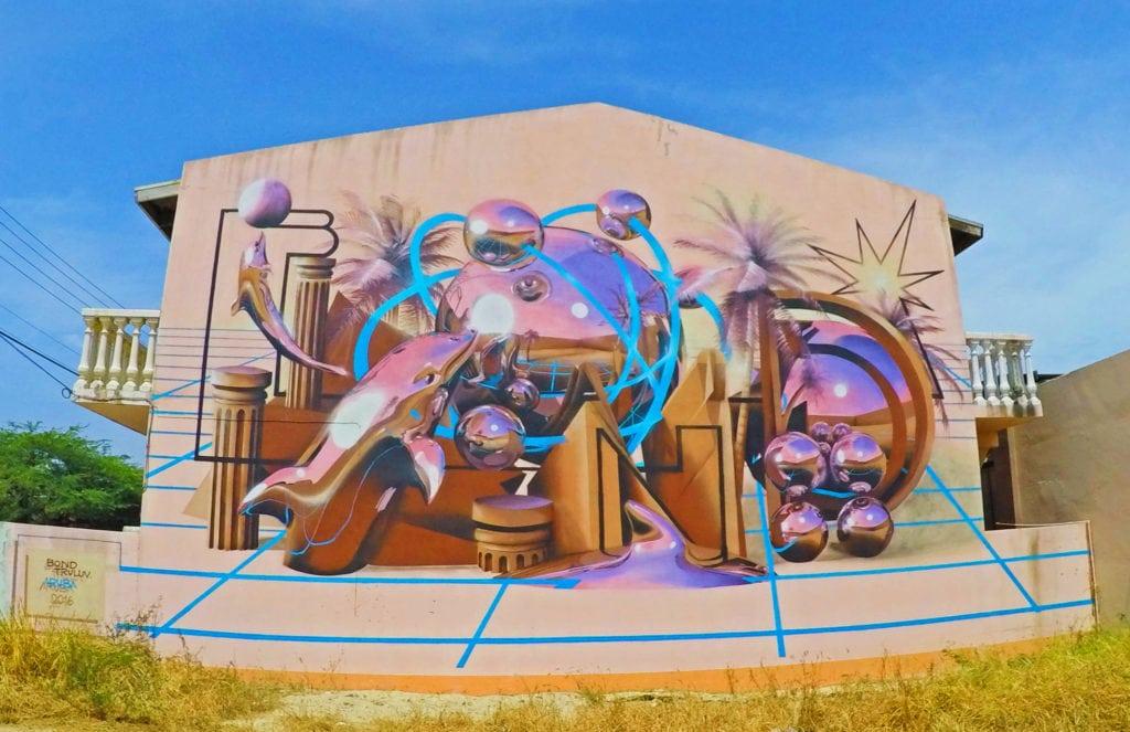 Street art Aruba | St Nicolas | Aruba what to do