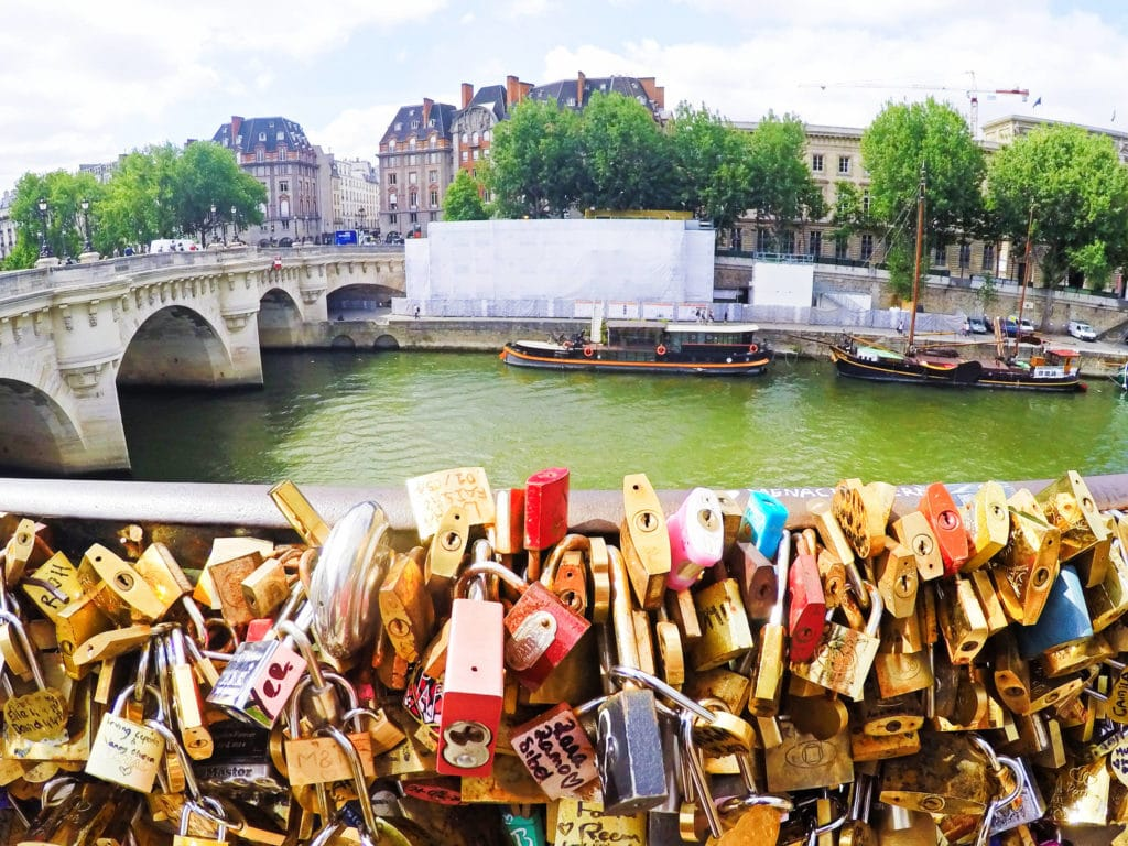Padlocks in Paris | Paris Attractions Pass | Tourist Spots in Paris | Paris Tour guide