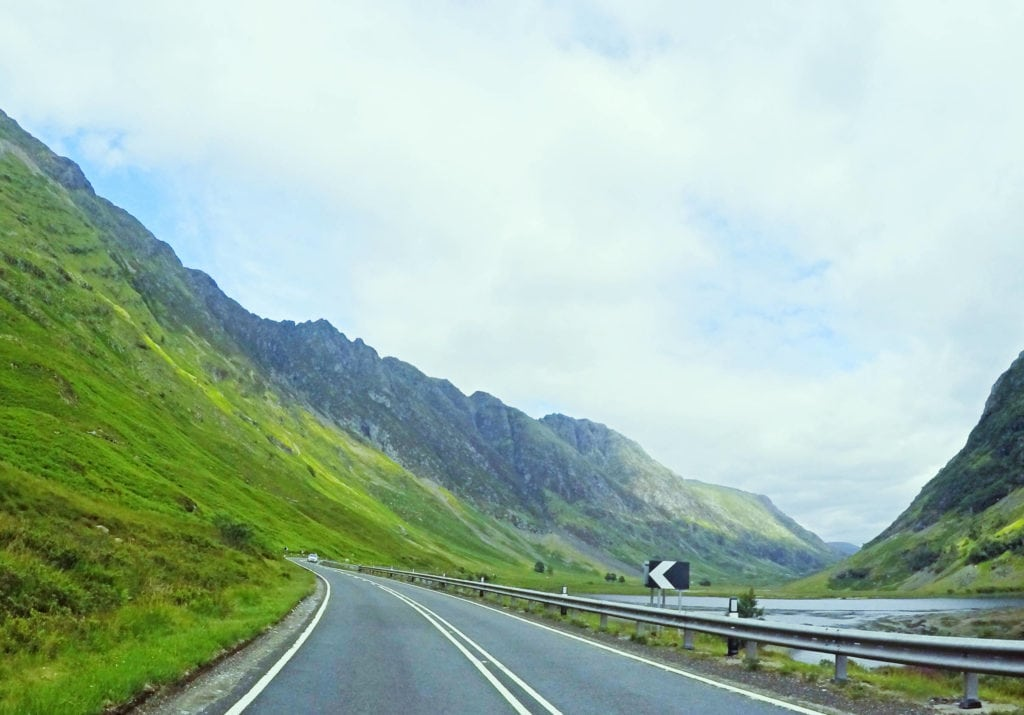 Scottish Highlands | Driving across Scotland | road-tripping in Scotland | Roads in Scotland