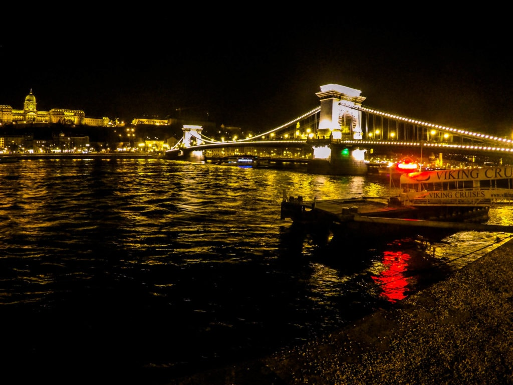 Budapest at night, best views
