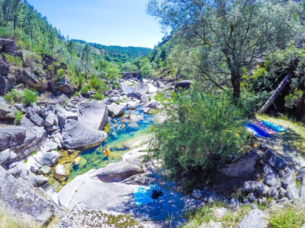 Peneda geres national park, portugal