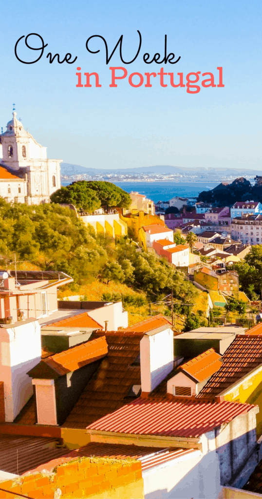 One week in Portugal - Perfect itinerary to visit the top cities in Portugal