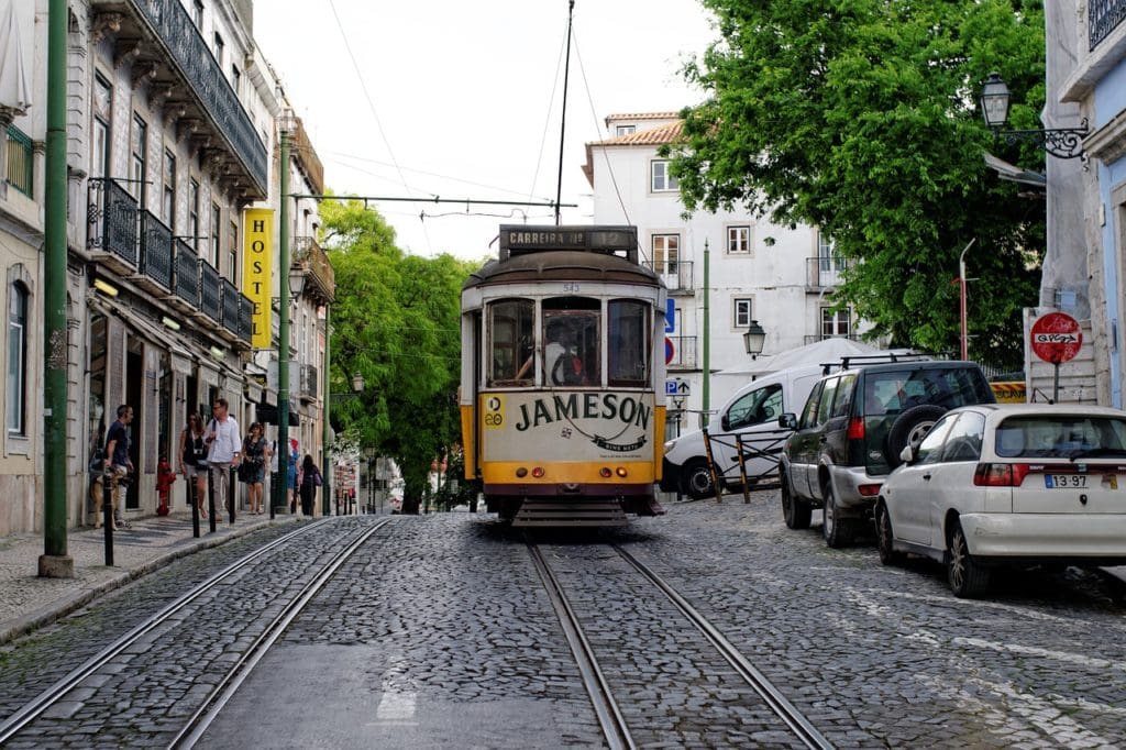 Lisbon, Tram - Portugal itinerary