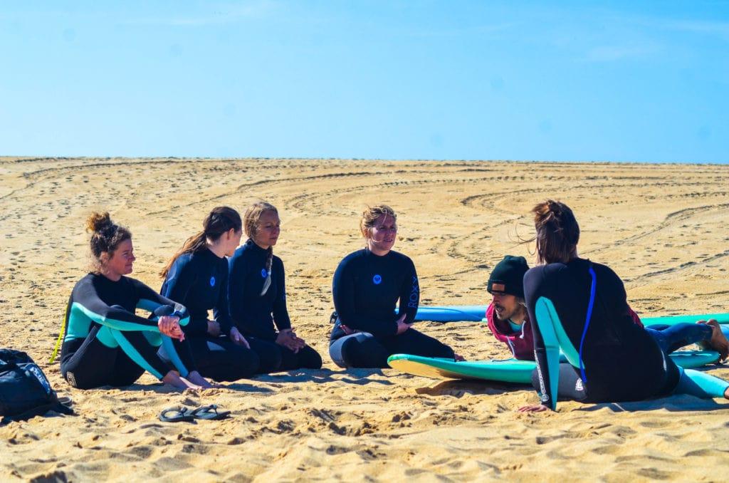 Rapturecamps Portugal surfcamp