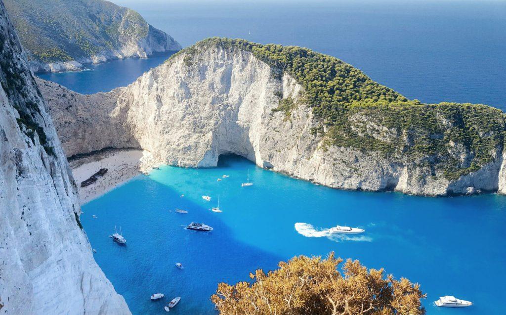 Best Views in Greece Shipwreck Beach