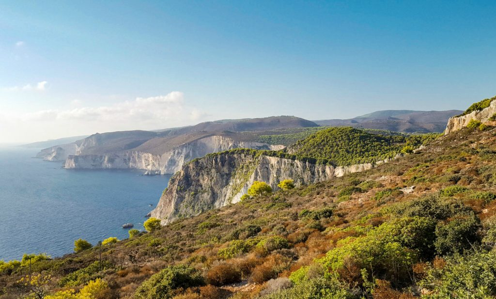 Cliffs of Keri, Greece