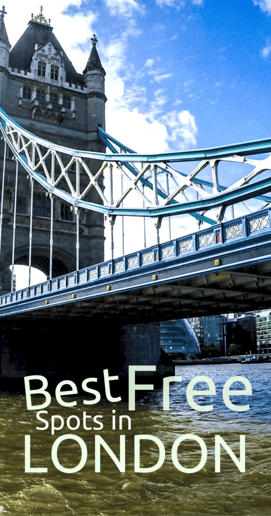 Things to love about London... that are FREE | London on a budget | Backpacking London | Free things to do in London