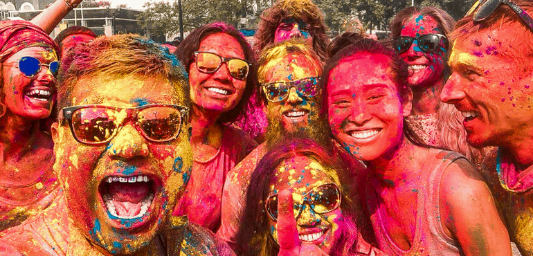 Image result for holi in india