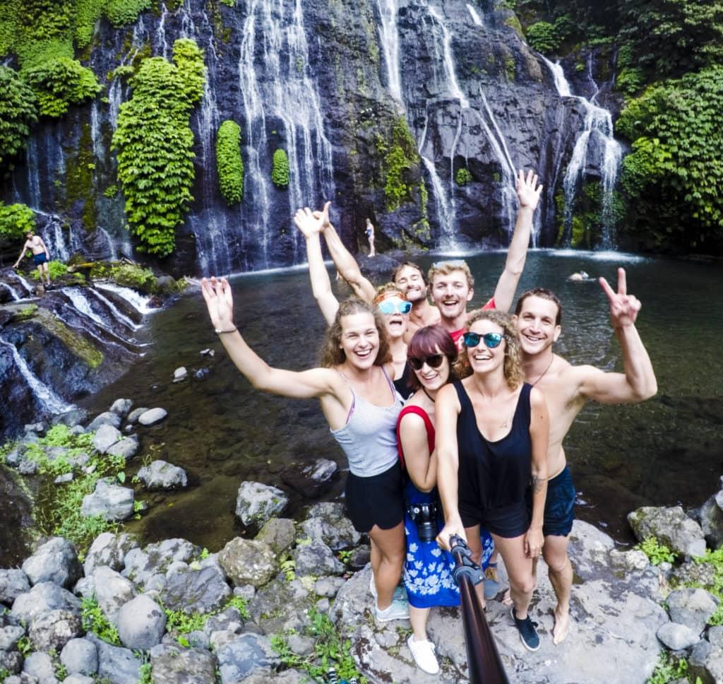 Bali Waterfall Gopro