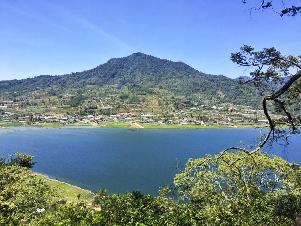 Munduk Lake Lookout Bali Indonesia