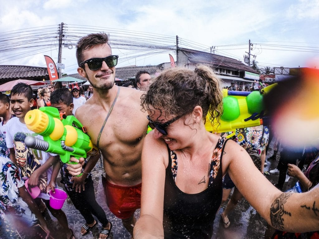 Songkran in Koh Phangan