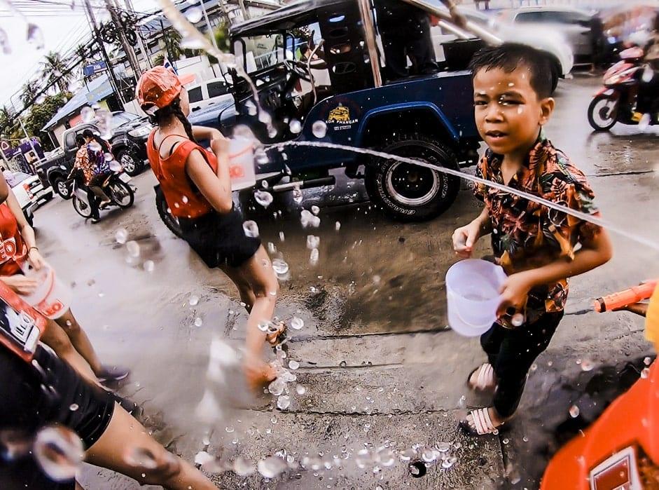 Songkran in Koh Phangan