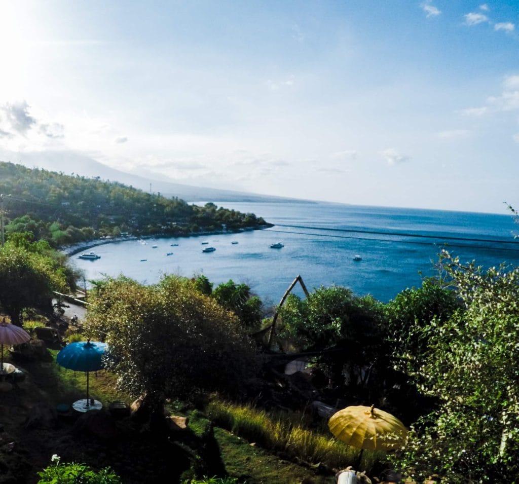 Amed, Bali, Mt Agung