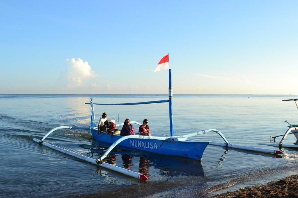 Lovina Bali boat
