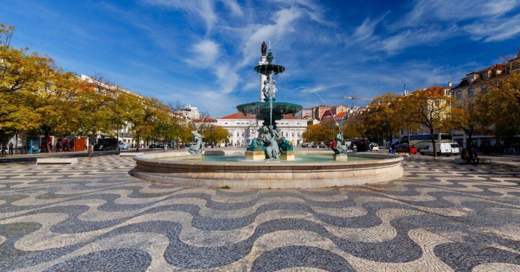Lisbon Rossio Square