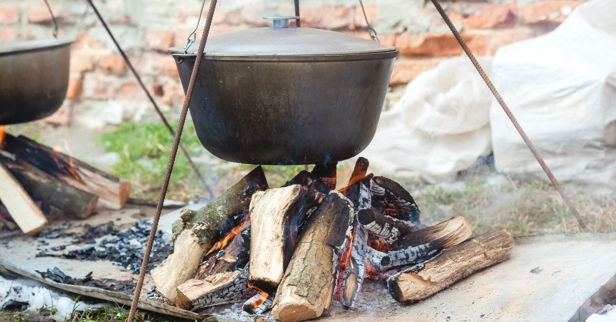 Breakfast for camping