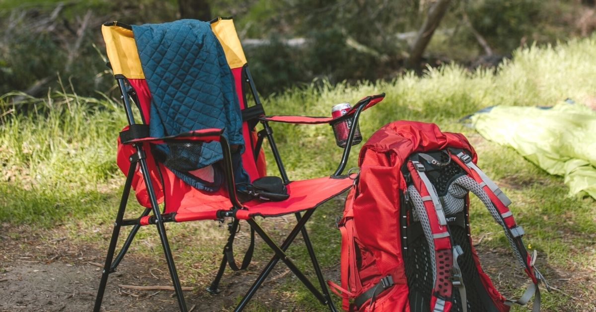 Camping chairs that are good for bad backs