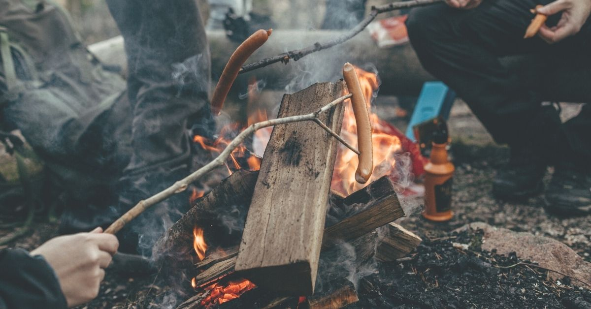 Camping lunch ideas