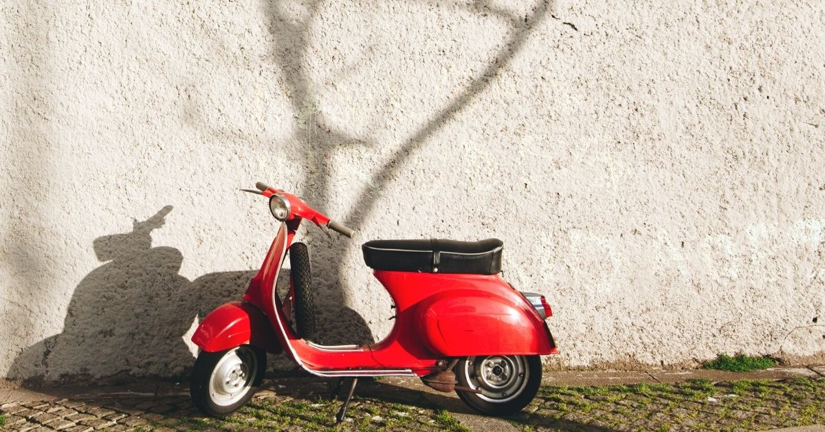 renting a scooter in the UK