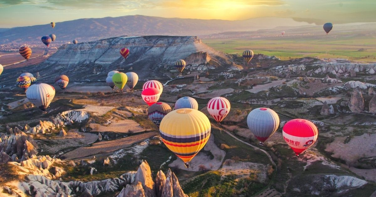 Cost of hot air balloon ride