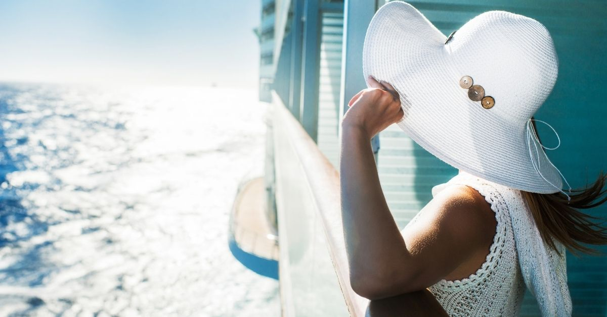 Woman on a Cruise